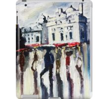 London on a rainy day iPad Case/Skin