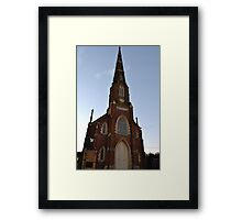 1860 AD-The Church-Stawell Framed Print
