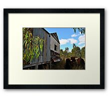 Forgot the Tractor Framed Print