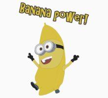 Banana Power! (Minion) One Piece - Short Sleeve