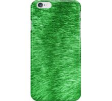 green fur iPhone Case/Skin