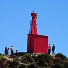 I am Small - Lighthouse in Chile by Daidalos