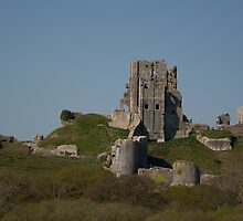 Corfe Castle, Dorset by Dean Messenger