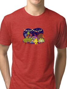 Veggie Ventures The Carnival Tri-blend T-Shirt