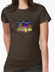 Veggie Ventures The Carnival Womens Fitted T-Shirt