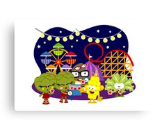 Veggie Ventures The Carnival Canvas Print