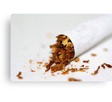 Cigarette.  Canvas Print