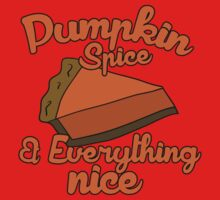 Pumpkin spice and everything nice One Piece - Short Sleeve