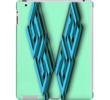 The Alphabet  The letter V iPad Case/Skin