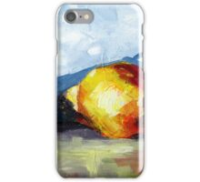 Pears still life iPhone Case/Skin