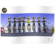 #PolyPeloton : Chris Froome Wins Poster