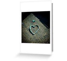 I love.....rope Greeting Card