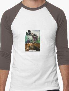 """Mediocre"" - Mad Max Fury Road Men's Baseball ¾ T-Shirt"
