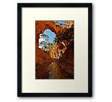 Golden Gully. Framed Print