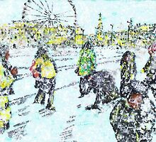 Snow Scene by George Coombs