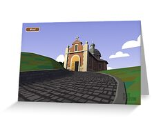 #PolyPeloton : Postcards - Muur Greeting Card