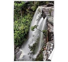 America Bay waterfall Poster