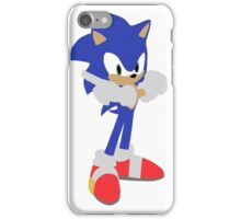 Sonic The Hedgehog (Vector Graphic) iPhone Case/Skin