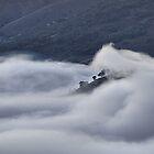 Fog in the Turon Valley - Merlon's Lookout, Hill End NSW by Bev Woodman