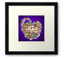 Ice Cube Secrets Framed Print