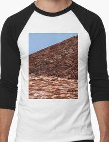 Uluru Abstract Men's Baseball ¾ T-Shirt