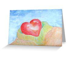 snuggle heart Greeting Card
