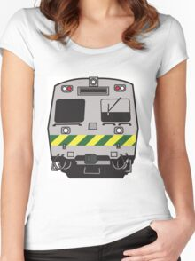 Hitatchi Train Melbourne Women's Fitted Scoop T-Shirt
