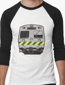 Hitatchi Train Melbourne Men's Baseball ¾ T-Shirt