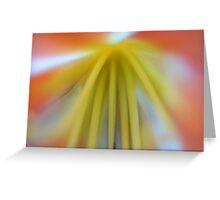 Pastel Blur Greeting Card