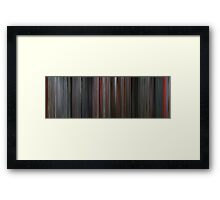 Moviebarcode: Total Recall (1990) Framed Print