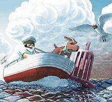 old sea dogs by markantony