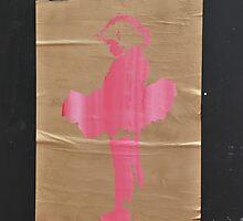A girl in a pink tutu by Celia Strainge