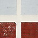 Red bricks. Blue bricks by Celia Strainge