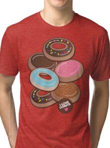 i luv donuts Tri-blend T-Shirt