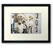 Infinita Tristeza (bi colour) Framed Print