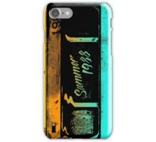 Summer of '88 - VHS Home Video Cassette Tape 1980s Retro Synth 80s Aesthetic iPhone Case/Skin