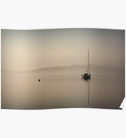 Easter Morning Fog Poster