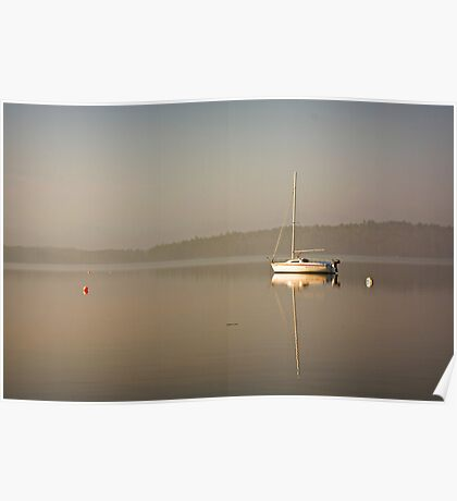 One Boat Poster
