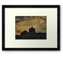 Mission Goliad Framed Print