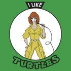 I Like Turtles by davrico