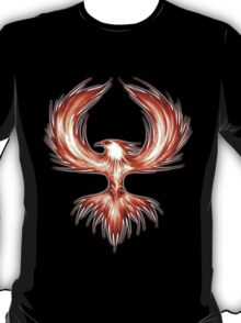 The Mythical Phoenix (flame) T-Shirt