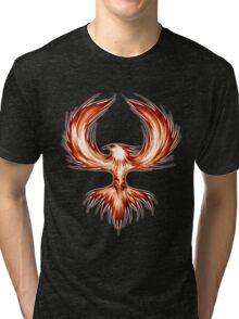 The Mythical Phoenix (flame) Tri-blend T-Shirt