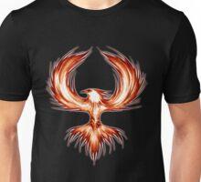 The Mythical Phoenix (flame) Unisex T-Shirt