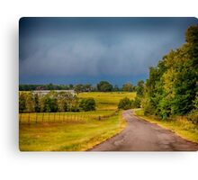 East Texas Cold Front Canvas Print