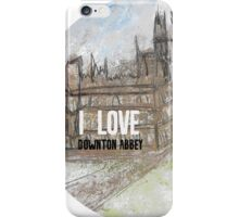 I love Downton iPhone Case/Skin