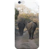 Elephant Stroll iPhone Case/Skin
