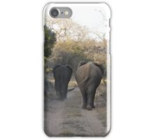 Elephant Stroll iPhone Case/Skin