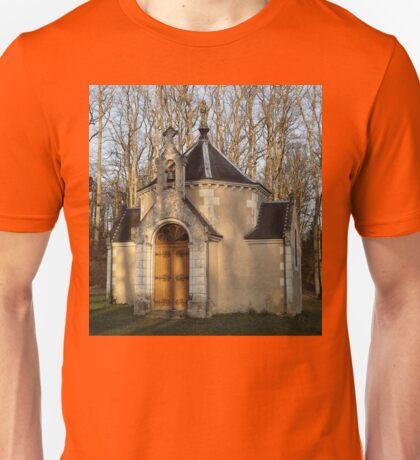 Church or Crypt?, Montresor, Loire Valley, France 2012 Unisex T-Shirt