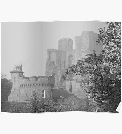scarborugh castle Poster