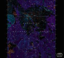 USGS Topo Map Oregon Broken Top 279147 1988 24000 Inverted by wetdryvac